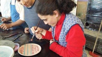 Imagem da galeria de fotos Participação em uma  atividade artistica na…